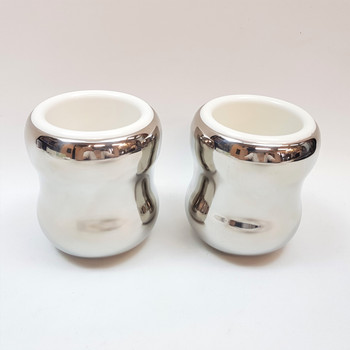 Pair of Georg Jensen Child Cups - Boxed #48375