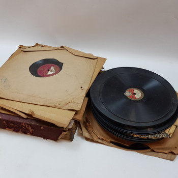 Lot of 40x 78 RPM Vintage Gramophone Records 10 & 12 Inch #53500