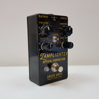 Greer Amps Guitar Effects Pedal - Lamplighter Optical Compressor #54879