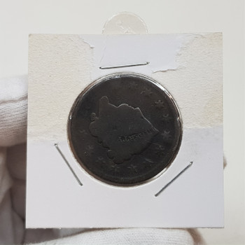 1827 USA Coronet Head Large One Cent Penny Coin #54281