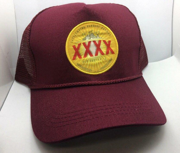XXXX HAT CAP OFFICIAL BEER OF QLD STATE OF ORIGIN - BRAND NEW #44144