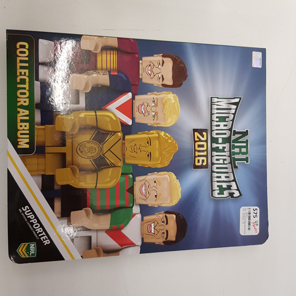 NRL Micro-Figures 2016 FULL Album (Official Product) #48757
