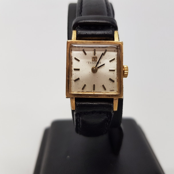 18CT GOLD TISSOT MANUAL WATCH #20590