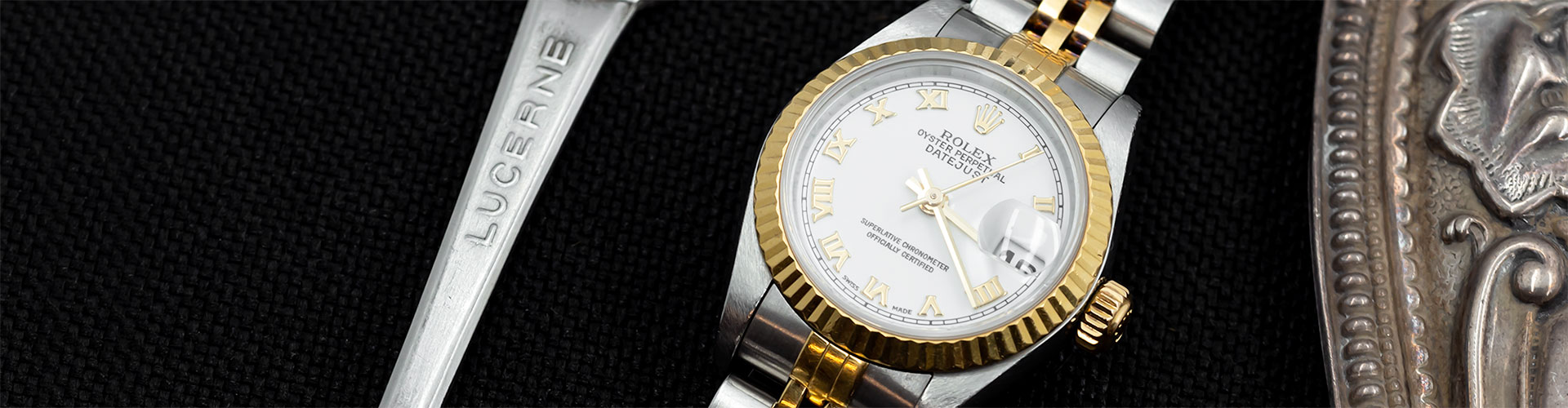 Ladies pre-owned luxury watches used second hand rolex