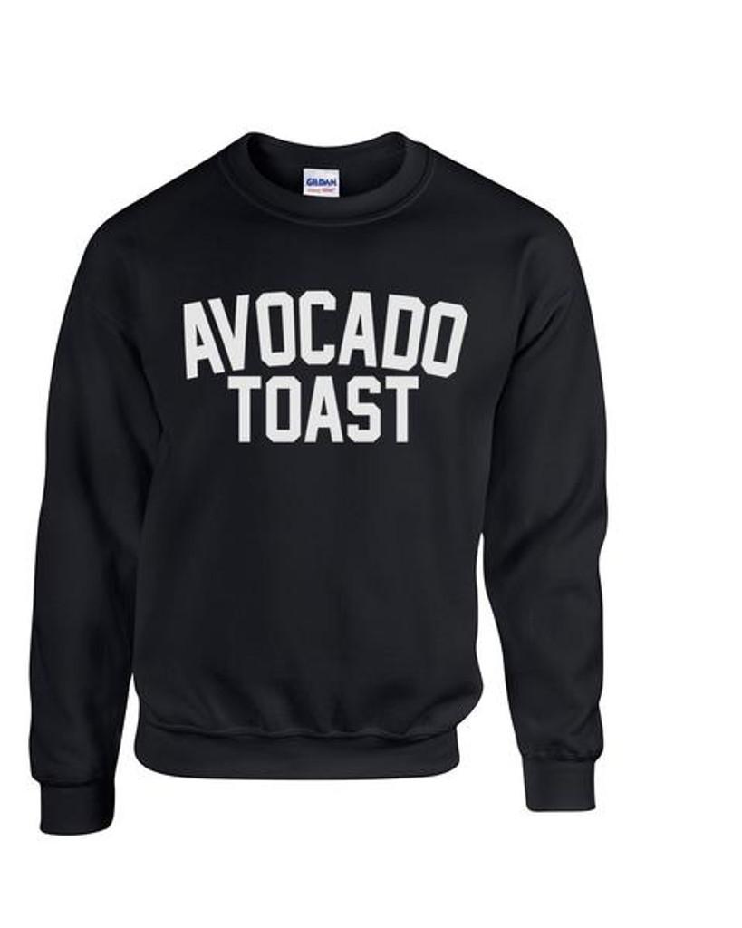 Avocado Toast - Crew neck Sweatshirt