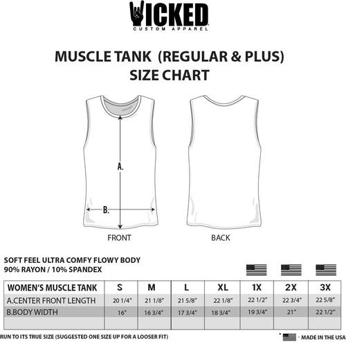 Custom Bride's Muscle Tank