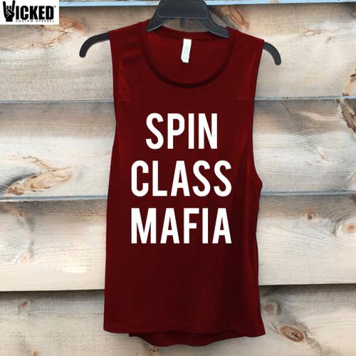Spin Class Mafia - Muscle Tank