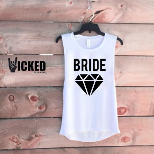 Bride Diamond - Muscle Tank