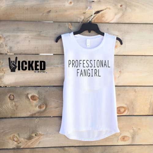 Professional Fangirl  - Muscle Tank