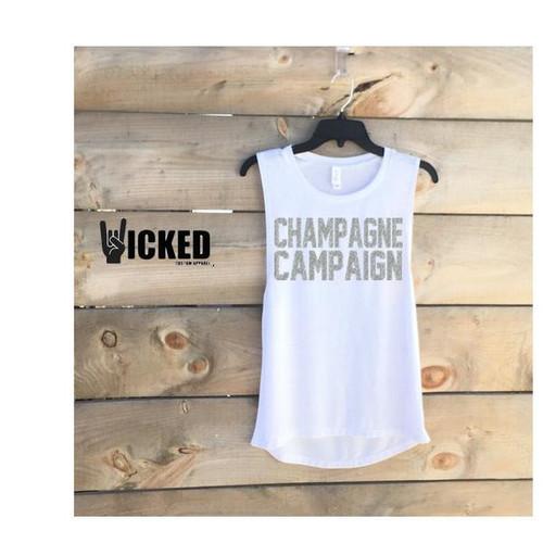 Champagne Campaign (Silver Glitter)