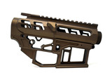 SR-15 Skeletonized Receiver Set [MIDNIGHT BRONZE]