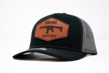 Curved Trucker Hat Black/Grey