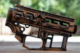 SR-15 Skeletonized Receiver Set Battleworn [COPPER BRONZE]