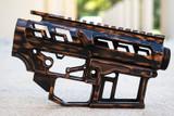 SR-15 Skeletonized Receiver Set Battleworn [COPPER]
