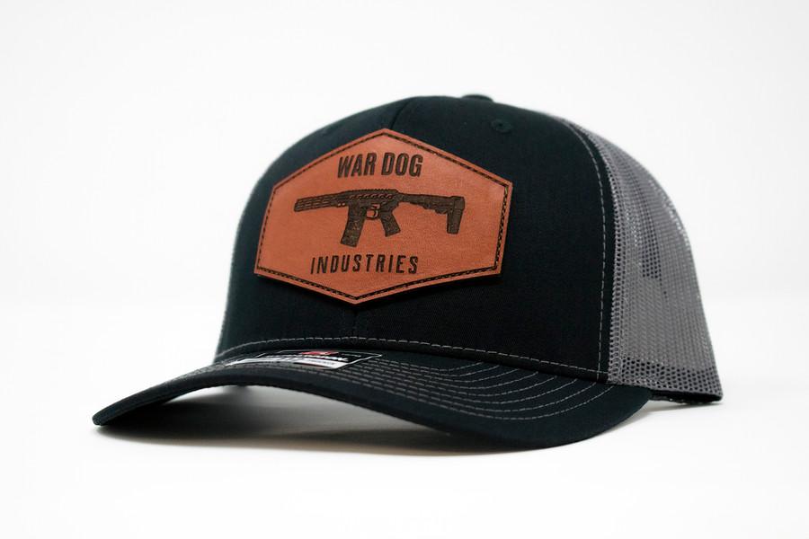 Curved Trucker Hat Black/Grey