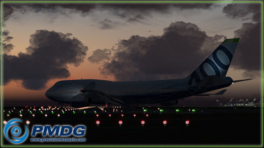 PMDG 747-400 Queen of the Skies II - Base Package for Prepar3D.