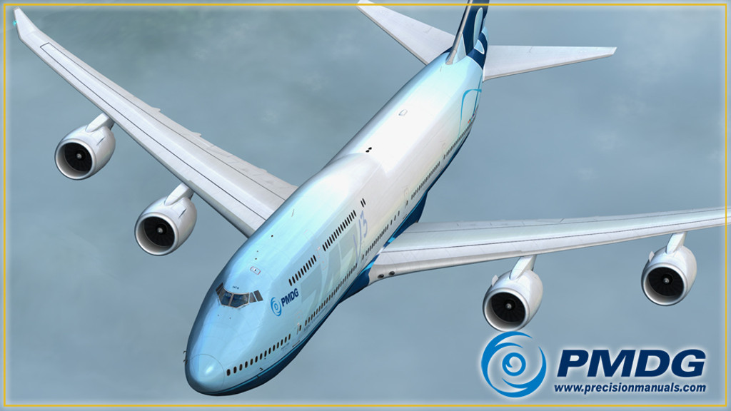 PMDG 747-8 Queen of the Skies II - Expansion Package for FSX