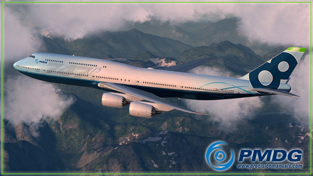 PMDG 747-8 Queen of the Skies II - Expansion Package for Prepar3D