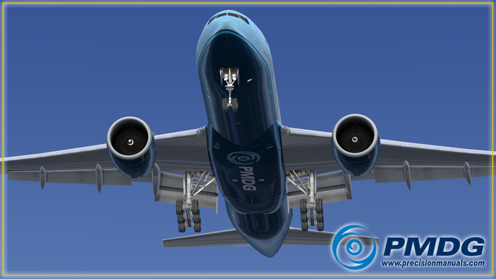 PMDG 777-200LR/F Base Package for FSX