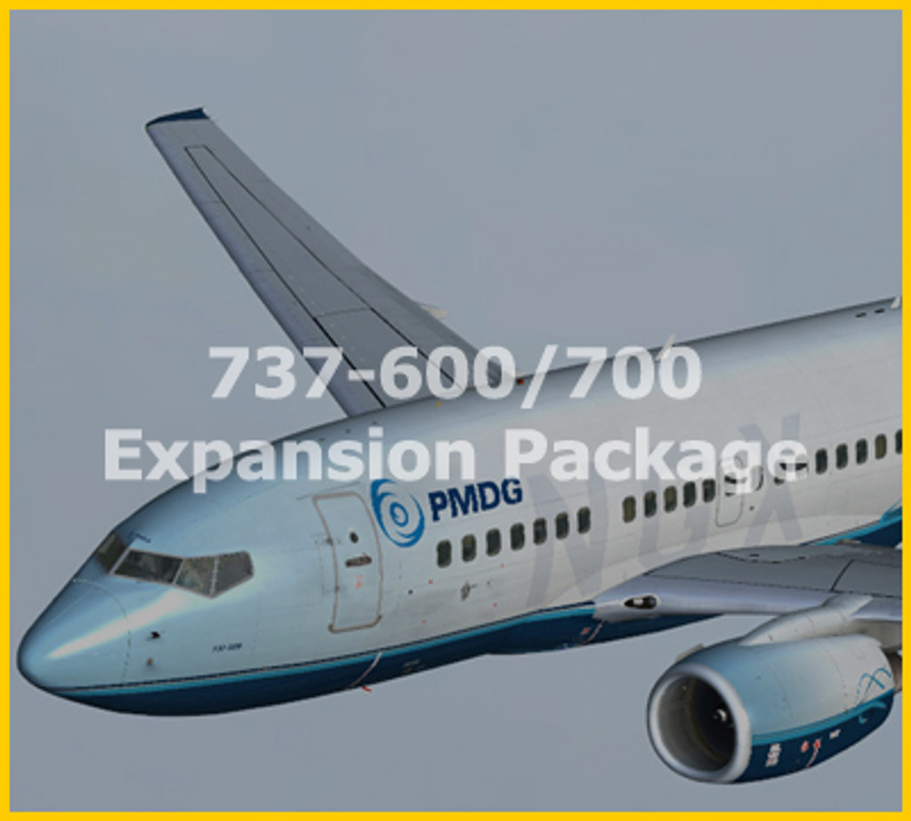 PMDG 737-600/700 NGX Expansion for FSX