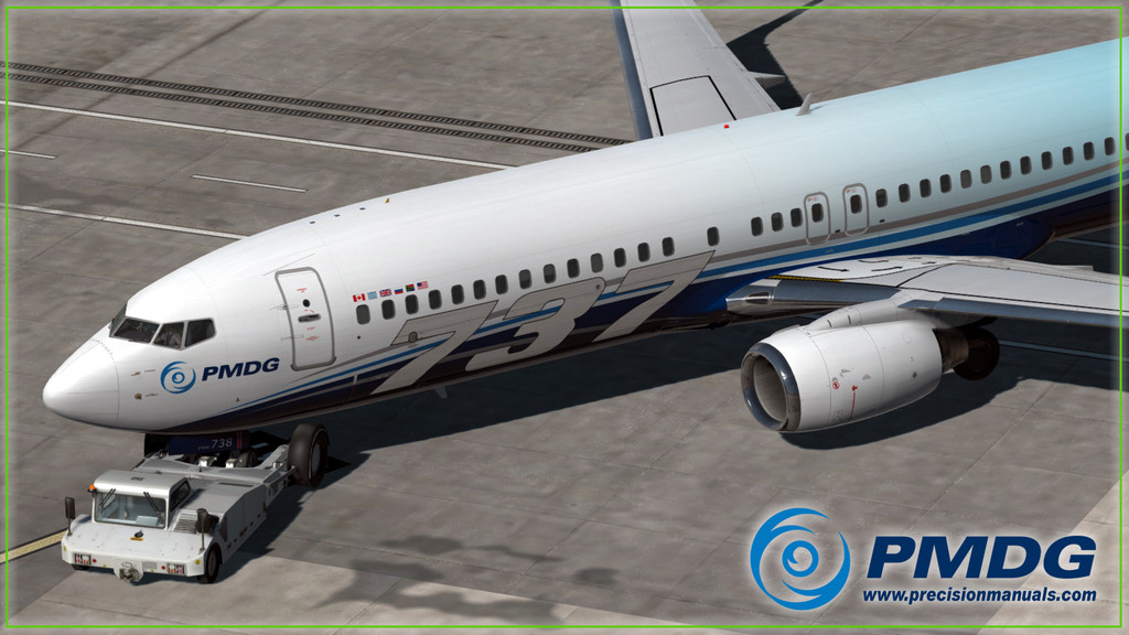 PMDG 737NGXu Base Package for Prepar3D v4