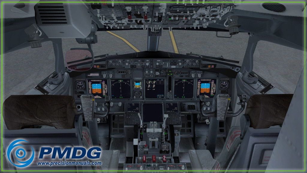 PMDG 737-600/700 NGX Expansion for Prepar3D