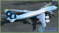 PMDG 747-8 Queen of the Skies II - Expansion Package for Prepar3D.