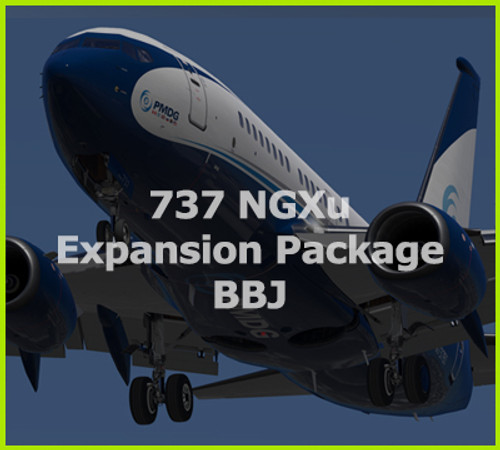 PMDG 737NGXu BBJ Expansion Package for Prepar3D v4 & v5