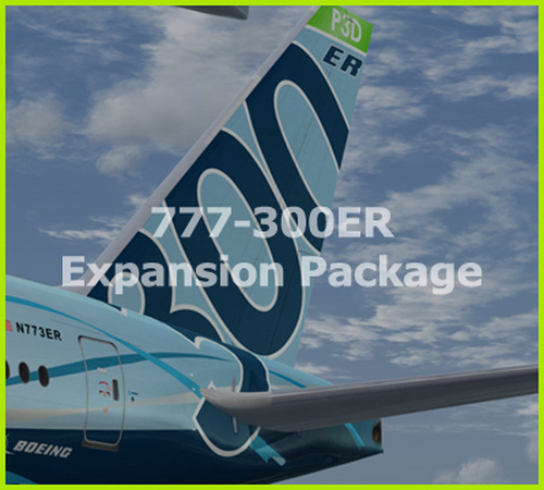 PMDG 777-300ER Expansion Package for Prepar3D