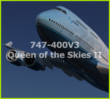 PMDG 747-400 Queen of the Skies II - Base Package for Prepar3D v4 4+