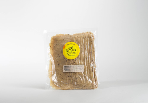 Vegan Meat Peppered Slices, 16 oz, in package