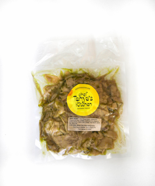Jamaican jerk slices package vegan
