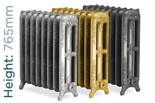 Rochester_765-TH - Rochester 3 Column Cast Iron Radiator H765mm x W278mm