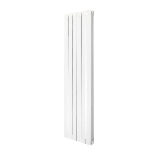 Trade Essentials Aluminium Designer White Vertical Radiator H1846mm X W260mm