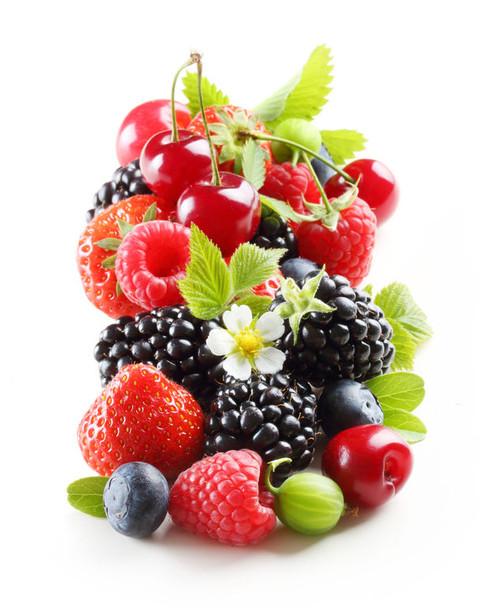 Black Cherries and Berries