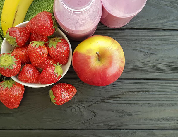 Creamy Apple Strawberry Smoothie E Liquid