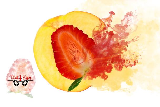Peachy Strawberry E Liquid