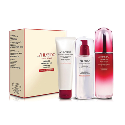 Shiseido Ultimate Defend Care Set