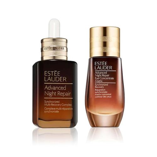 Estee Lauder Advanced Night Repair Face Serum and Eye Matrix Set