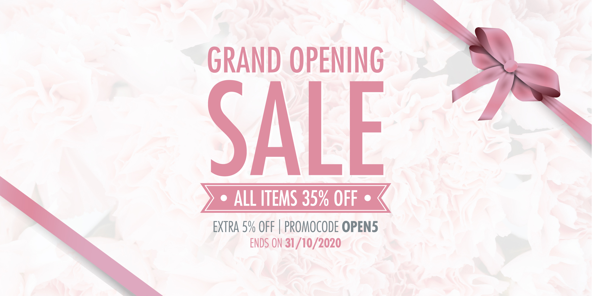 DEMA Beauty Grand Opening 35%off