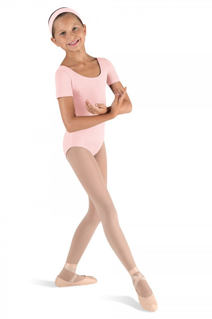 Bloch Cotton Short Sleeve Leotard | Girls