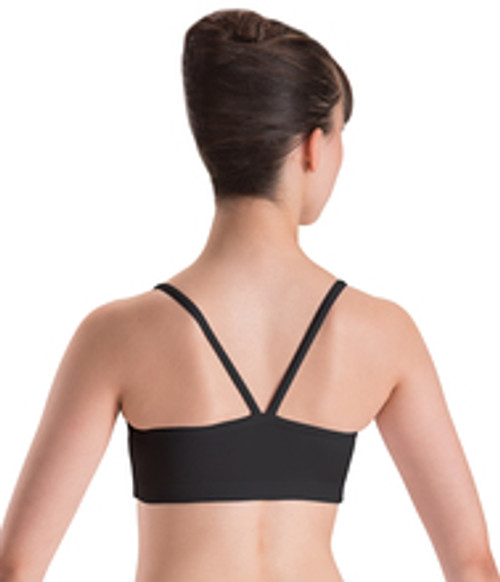 Motionwear V Back Strap Crop Top | Girls