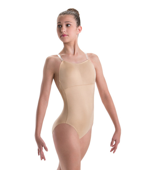 Motionwear Removable Padded Cups Cami Leotard