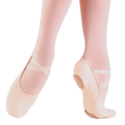 So Danca Stretch Canvas Ballet Shoes | Girls