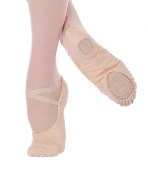 Body Wrappers Stretch Canvas Ballet Shoe