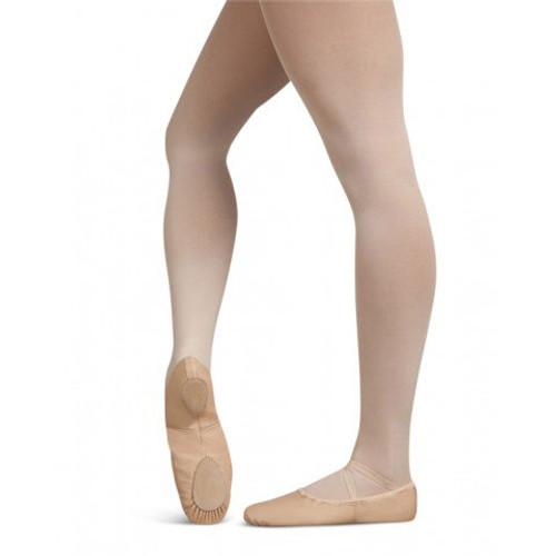 Capezio Cobra Leather Ballet Shoe | Youth