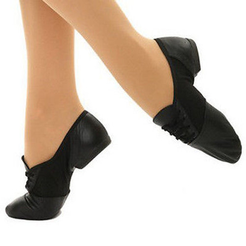 Capezio Canvas/Leather Split Sole Jazz Shoe | CLEARANCE