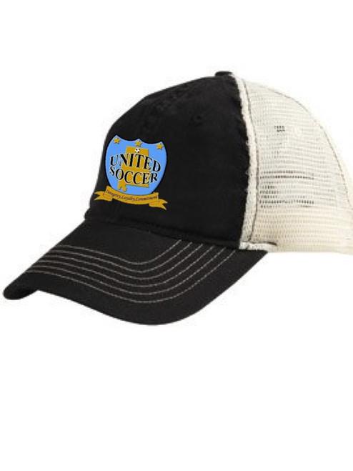 Bio-Washed Cotton Twill Trucker cap
