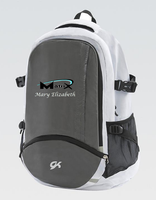 The Matrix Artistic Gymnastics Team Backpack 2019-20