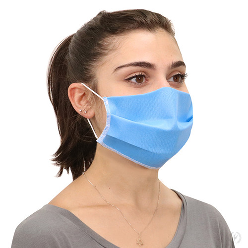 Eurotard 3-ply Nonwoven Polypropylene Face Mask